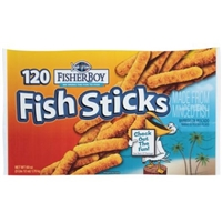 High Liner Fisher Boy Fish Sticks - 120 CT Food Product Image