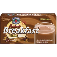 Lowes Foods Breakfast Drink Instant Chocolate 10 Ct Food Product Image