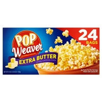 Pop Weaver Popcorn Microwave, Extra Butter Food Product Image
