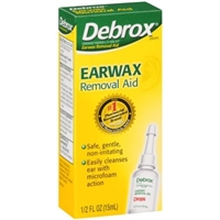Debrox Earwax Removal Aid Food Product Image