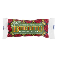 Amy's Burrito Cheddar Cheese Food Product Image