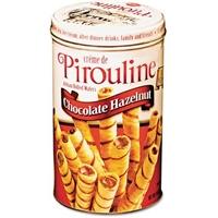 Debeukelaer Creme De Pirouline Chocolate Hazelnut Cookies Food Product Image