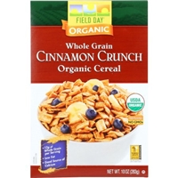 Field Day Cereal - Organic - Whole Grain - Cinnamon Crunch - 10 oz - case of 12 Food Product Image