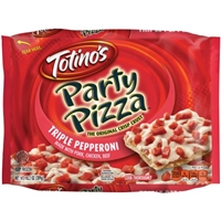 Totino's Party Pizza, Triple Pepperoni Food Product Image