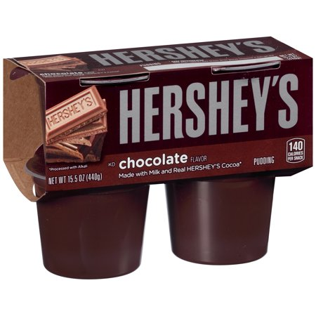 Hershey's Pudding Chocolate - 4 CT Food Product Image