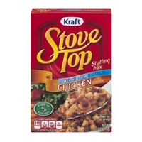 Kraft Stove Top Stuffing Mix for Chicken Lower Sodium Food Product Image