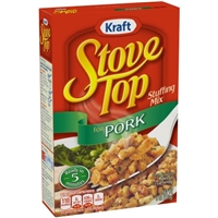 Kraft Stove Top Stuffing Mix Pork Food Product Image