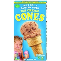 Edward & Sons Let's Do... Gluten Free Ice Cream Cones - 12 CT Food Product Image