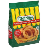 Nathan's Battered Onion Rings Thick Sliced Food Product Image