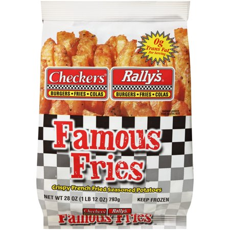 Checkers Rally's Famous Fries Food Product Image
