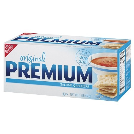 Nabisco Original Premium Saltine Crackers Food Product Image