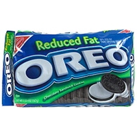 Oreo Chocolate Sandwich Cookies Reduced Fat Product Image