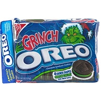 Oreo Chocolate Sandwich Cookies Grinch