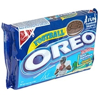 Oreo Chocolate Sandwich Cookies Football Product Image