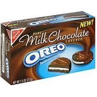 Oreo Chocolate Sandwich Cookies Milk Chocolate Covered Product Image