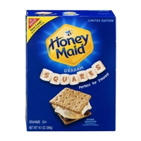Nabisco Honey Maid Grahams Squares Food Product Image