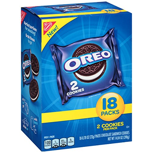 Nabisco Oreo Cookies - 18 CT Food Product Image