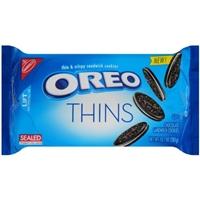 Nabisco Oreo Thins Chocolate Sandwich Cookies Food Product Image