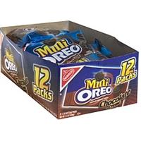 Oreo Chocolate Sandwich Cookies Bite Size, Chocolate Creme Product Image