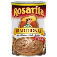Rosarita Refried Beans Traditional Food Product Image