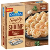 Gorton's Simply Bake Shrimp Scampi Food Product Image