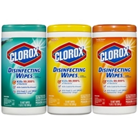 Clorox Fresh Lemon Disinfectant Wipes Food Product Image
