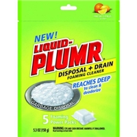 Liquid Plumr Disposal & Drain Foaming Citrus Food Product Image
