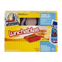 Lunchables Cracker Stackers Turkey & American 8.9 OZ Food Product Image