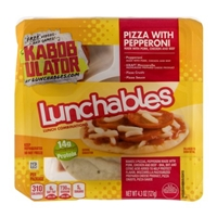 Lunchables Lunch Combinations Pizza with Pepperoni Food Product Image