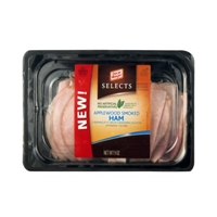 Oscar Mayer Selects Ham Applewood Smoked Food Product Image