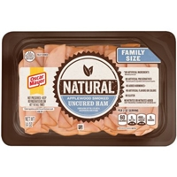 Oscar Mayer Natural Applewood Smoked Ham Food Product Image