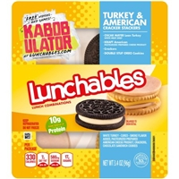 Lunchables Cracker Stackers Turkey & American Food Product Image