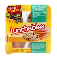 Lunchables Light Bologna & American Food Product Image