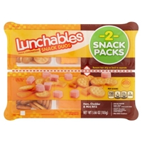 Lunchables Snack Duos Ham, Cheddar & Mini Ritz - 2 CT Food Product Image