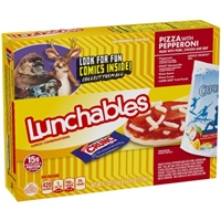 Lunchables Pizza with Pepperoni Lunch Combinations Food Product Image