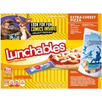 Lunchables Lunch Combinations Extra Cheesy Pizza Food Product Image