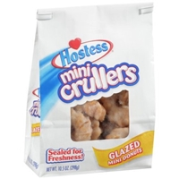 Hostess Mini Crullers Glazed Donuts Food Product Image