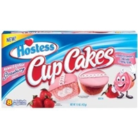 Hostess Strawberry Cupcakes Food Product Image