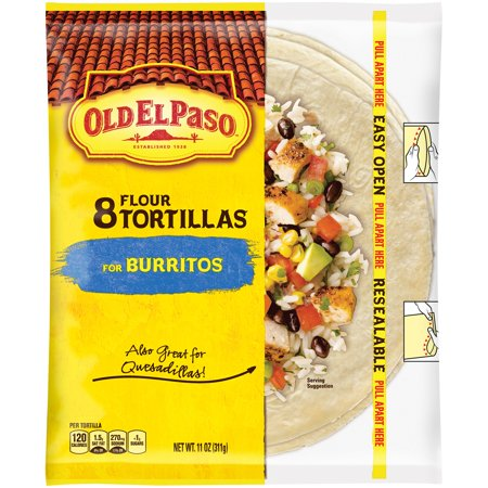 Old El Paso Flour Tortillas - 8 CT Food Product Image