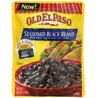 Old El Paso Seasoned Black Beans Food Product Image
