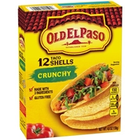 Old El Paso Taco Shells Crunchy - 12 CT Food Product Image