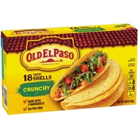 Old El Paso Taco Shells Crunchy - 18 CT Food Product Image