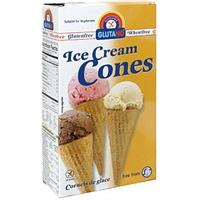 Glutano Ice Cream Cones Food Product Image