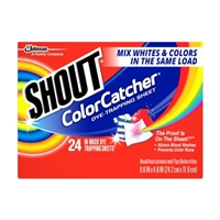 Shout ColorCatcher Dye-Trapping Sheet - 24 CT Food Product Image
