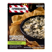 TGI Fridays Spinach & Artichoke Cheese Dip Food Product Image