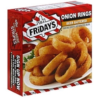 T.G.I. Friday's Onion Rings Beer Battered Food Product Image