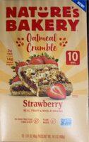 Oatmeal crumble Food Product Image