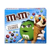 M&M's Ice Cream Cones - 6 CT Food Product Image