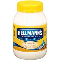 Hellmann's Canola Mayonnaise Dressing Food Product Image