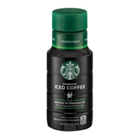 Starbucks Iced Coffee Unsweetened Food Product Image